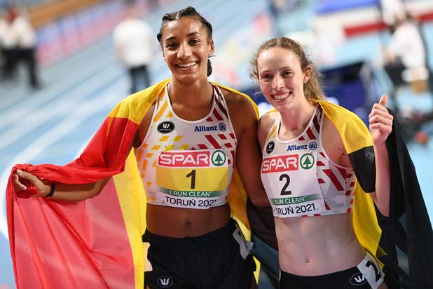 Doublé historique au pentathlon: l'or pour Nafissatou Thiam, l'argent pour Noor Vidts