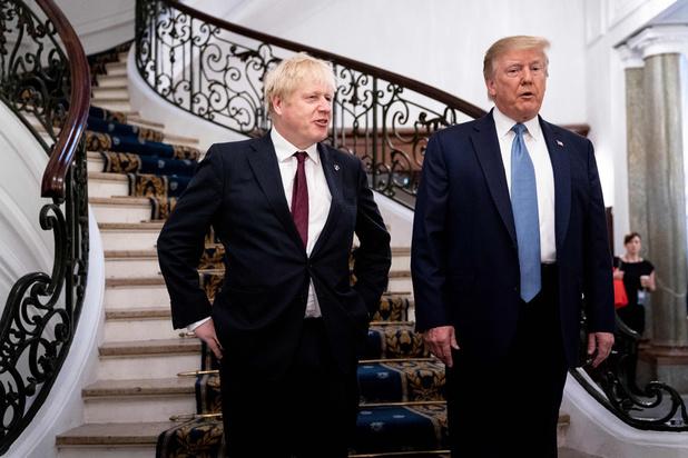 Trump affiche sa complicité avec Johnson sur le Brexit au sommet du G7