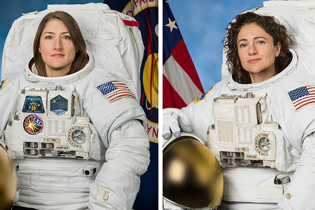Eerste exclusief vrouwelijke ruimtewandeling ooit