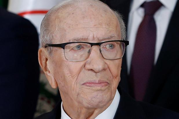 Tunesisch president overleden