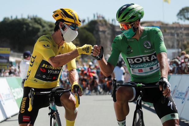 Sagan n'abandonne pas la lutte pour le maillot vert