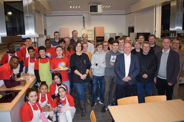 Splinternieuwe keuken De Boei is aanwinst voor school Petrus en Paulus West