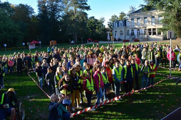 400 Waregemse leerlingen vormen Klimaatbende in Park Baron Casier