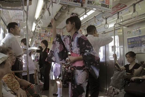 """Une appli contre les """"frotteurs"""" du métro fait un carton au Japon"""