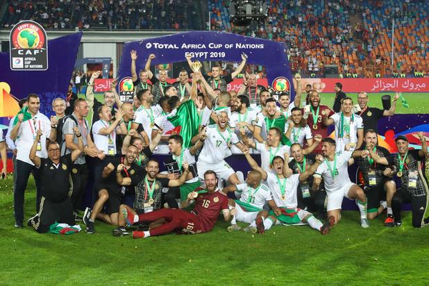 L'Algérie à nouveau championne d'Afrique, 29 ans plus tard