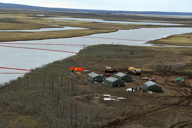 L'état d'urgence à nouveau déclaré dans l'Arctique russe après un déversement de carburant