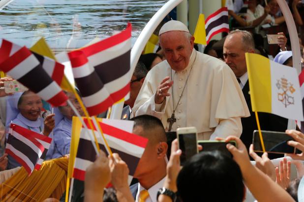 En Thaïlande, le pape déplore les ravages de la prostitution