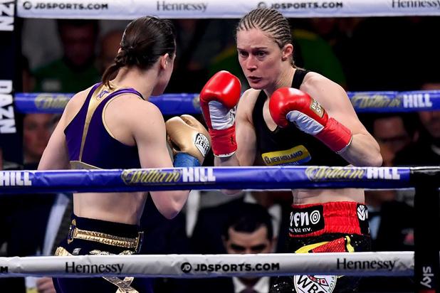 Katie Taylor verslaat Delfine Persoon op punten