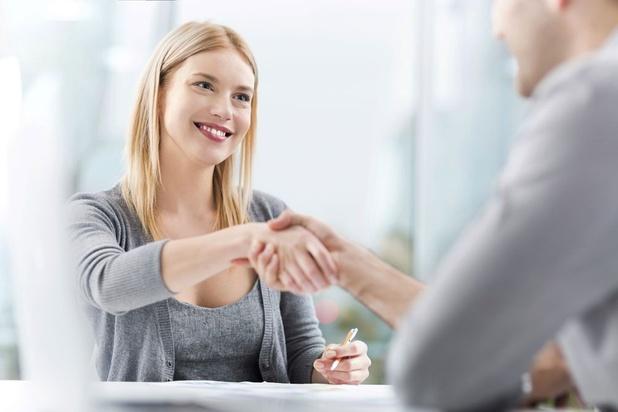 Aantal werkzoekenden in Vlaanderen op niveau van 2019
