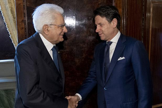 Uittredend Italiaans premier Conte met vorming nieuwe regering belast
