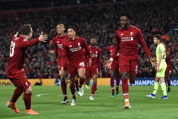 Champions League: Liverpool vernedert Barcelona en realiseert gedroomde ommekeer