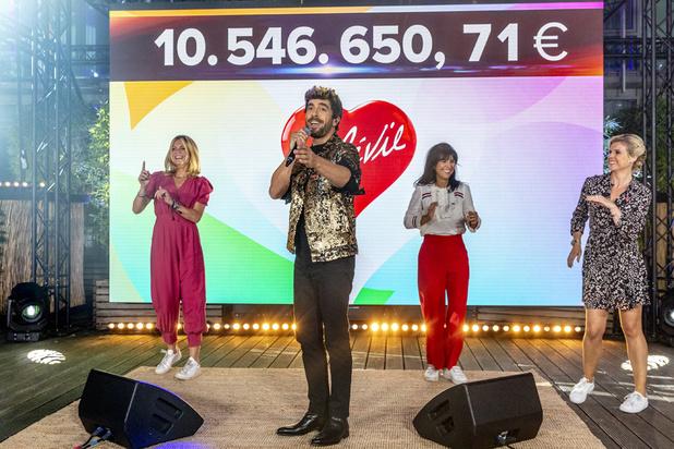 Plus de 10,5 millions d'euros récoltés au cours de la 32e édition du Télévie