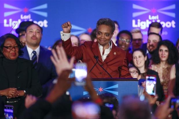 Chicago heeft voor het eerst zwarte vrouw als burgemeester