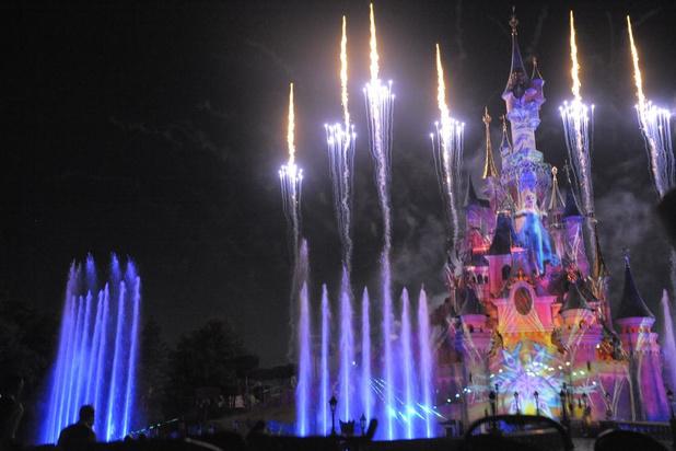 Annelien Coorevits, Ruth Beeckmans en Loïc Nottet beleven leuke tweedaagse in Disneyland Paris