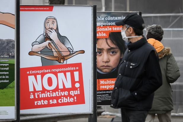 Les Suisses votent contre des multinationales plus responsables