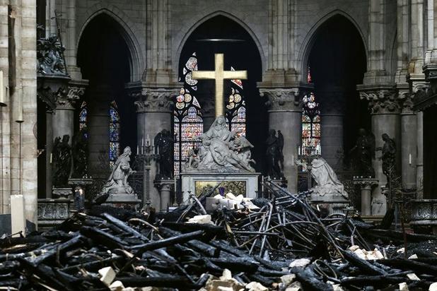 Environ quatre mois pour sécuriser le site de Notre-Dame
