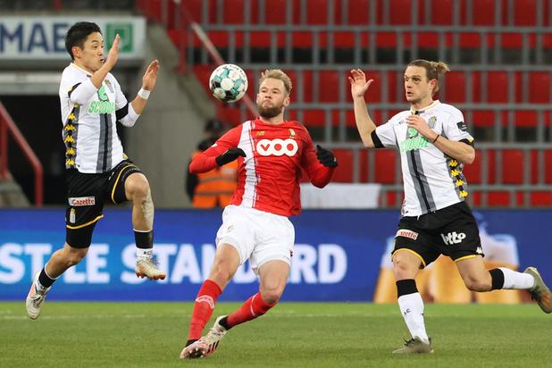 Jupiler Pro League: Le Standard s'offre un choc wallon intense contre Charleroi