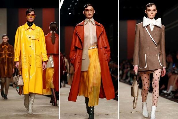 Fendi eert Lagerfeld met modeshow