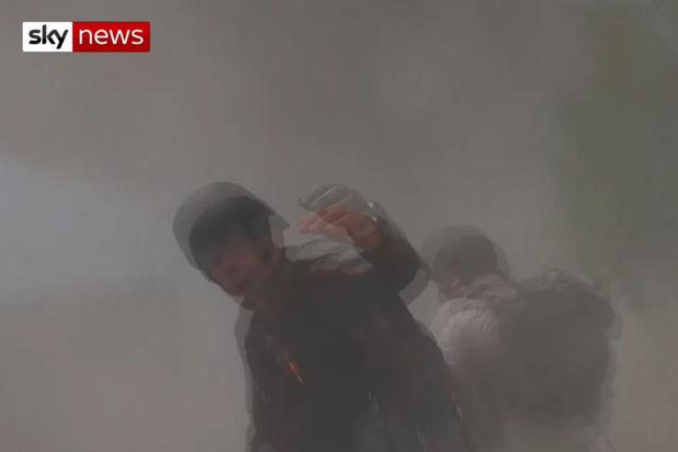 Ploeg van Sky News aangevallen door Syrische regeringstroepen