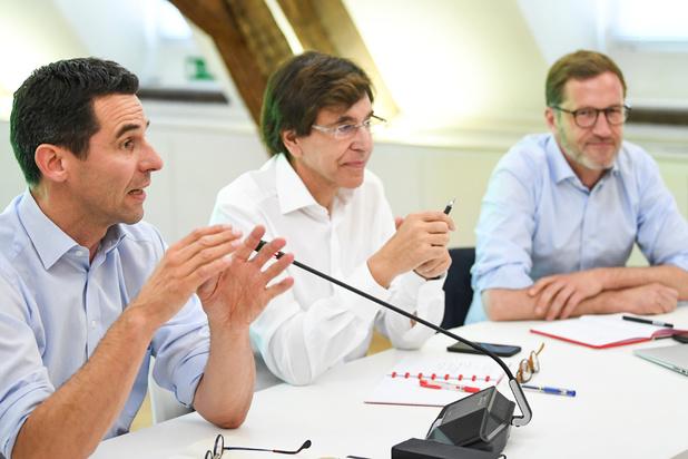Magnette over nota PS-Ecolo: 'De grote politieke keuzes zijn gemaakt'