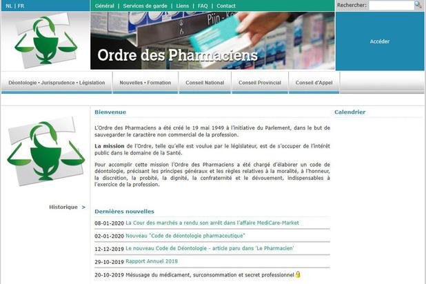 Ordre des pharmaciens vs Medi-Market: infraction de l'Ordre confirmée mais amende réduite