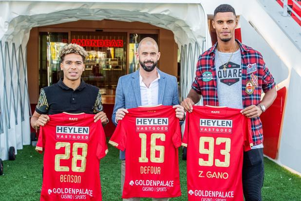 Antwerp trekt Defour, Benson en Gano aan