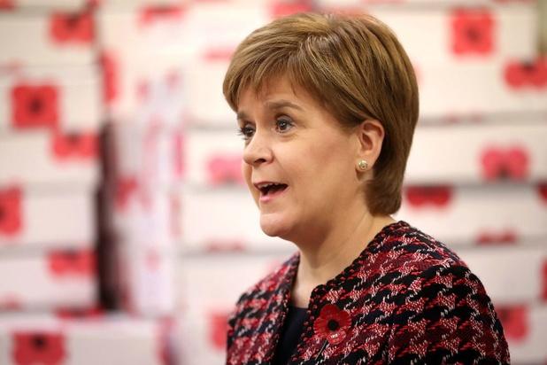 Schotse premier Nicola Sturgeon eist dat Boris Johnson no deal-dreigement laat vallen
