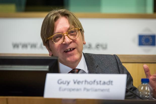 """Verhofstadt krijgt dan toch """"troostprijs"""" van Europees Parlement"""