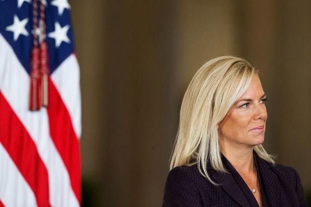 Amerikaans minister van Binnenlandse Veiligheid Kirstjen Nielsen stapt op