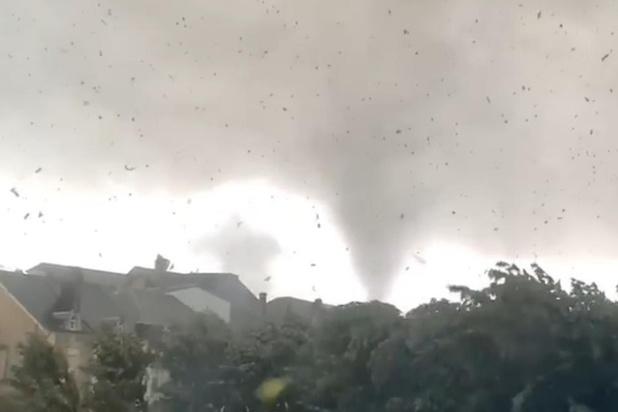 La tornade de Beauraing classée F1 sur l'échelle de Fujita
