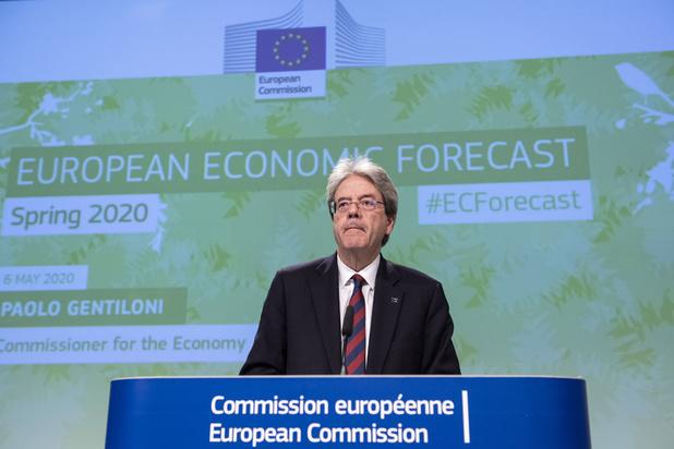 Europese economische vooruitzichten: harde klap en onzekere heropleving
