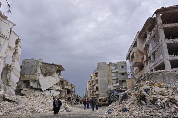 Dertien burgers gedood bij bombardementen in noordwesten van Syrië