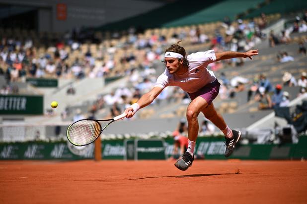 Roland Garros: Federer déclare forfait, Tsitsipas et Medvedev en quarts de finale