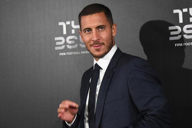 Eden Hazard dans le Onze de l'année 2019