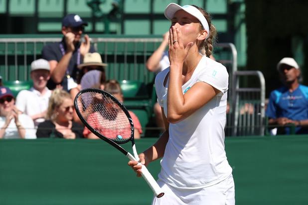 Mertens déroule et file au 3e tour de Wimbledon