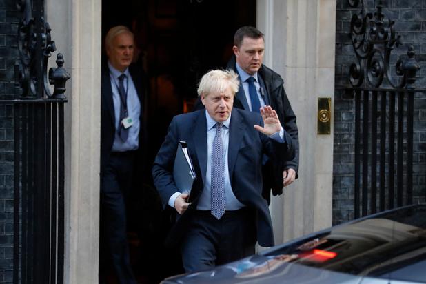Ouverture d'une séance exceptionnelle du Parlement sur l'accord de Brexit