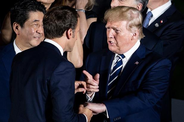 Echange téléphonique entre Trump et Macron sur l'Iran