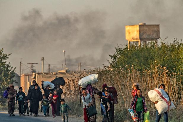 Syrie: l'offensive turque pourrait déplacer 400.000 personnes