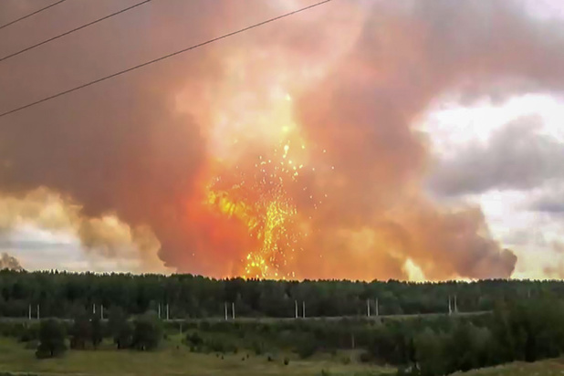 """Explosion en Russie: les victimes travaillaient sur de """"nouveaux armements"""""""