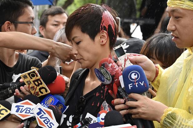 Tienduizenden mensen op straat in Taiwan uit solidariteit voor protesten in Hongkong