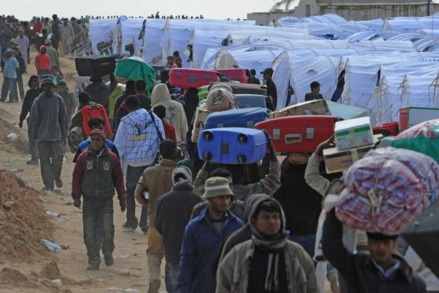 Vierduizend migranten opgepakt in Libië