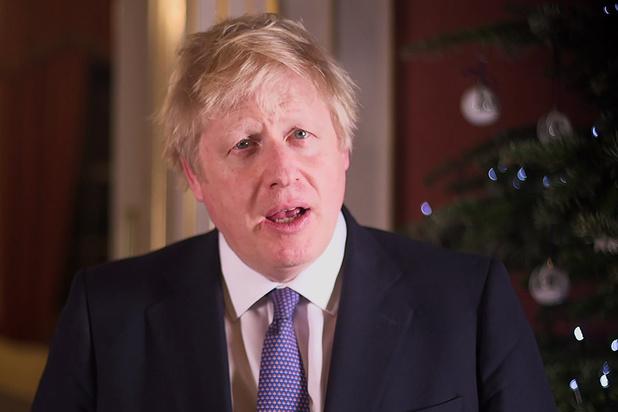 """Boris Johnson promet un """"nouveau chapitre"""" pour le Royaume-Uni"""