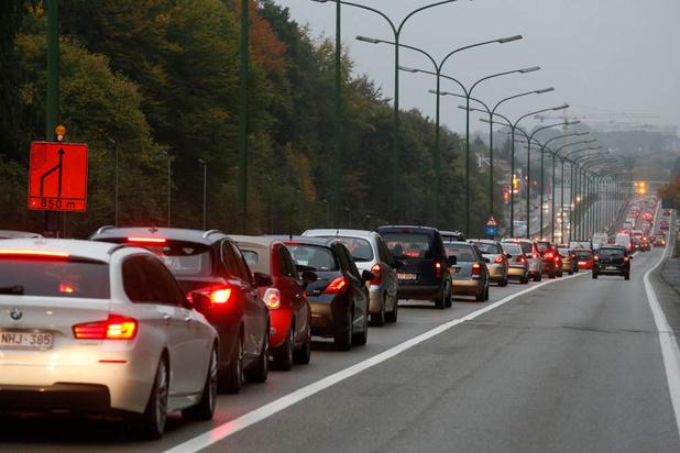 Flandre : une taxe kilométrique réduirait les embouteillages d'un tiers
