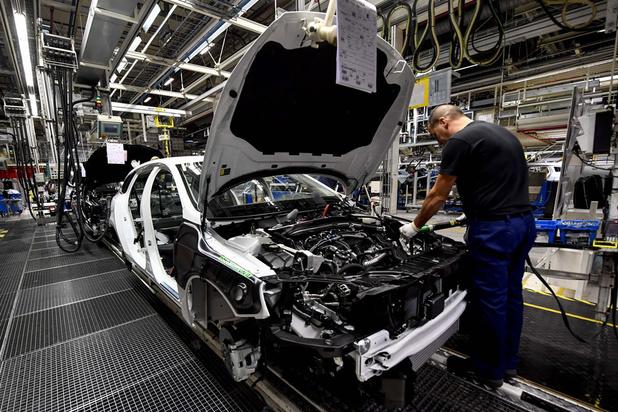 Industriële productie eurozone herstelt verder, maar niet in België