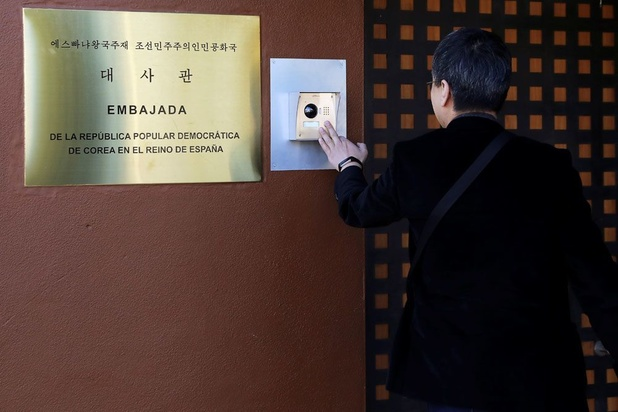 Noord-Korea beschouwt inval in ambassade in Madrid als terreuraanval