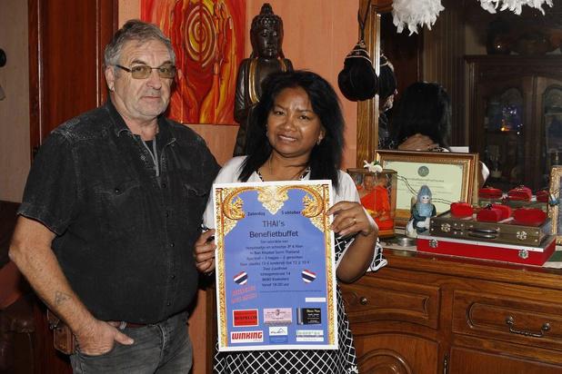 Jean-Pierre organiseert benefiet ten voordele van Thais geboortedorp van zijn vrouw