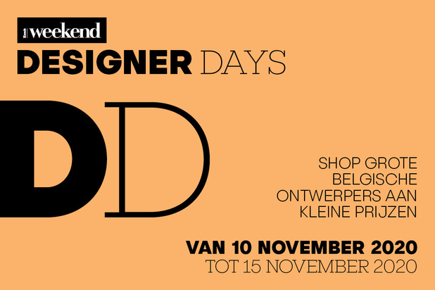 Deze Belgische ontwerpers doen mee met de Designer Days