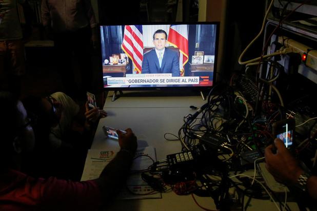 Gouverneur Puerto Rico stapt op