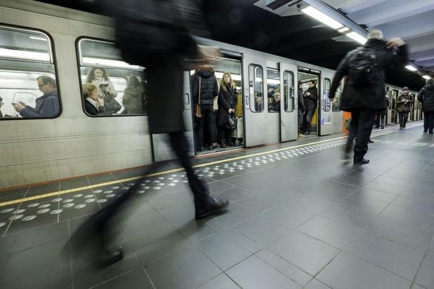 Un concert secret dans le métro bruxellois