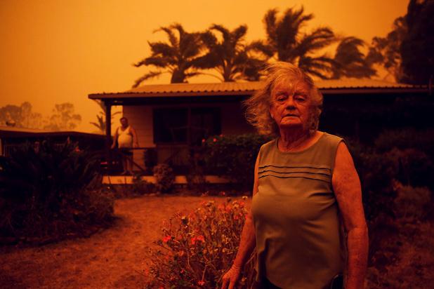 Bosbranden in Australië komen samen in 'megabrand'